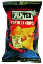 Tortilla chips au piment, aromatisées Wanted