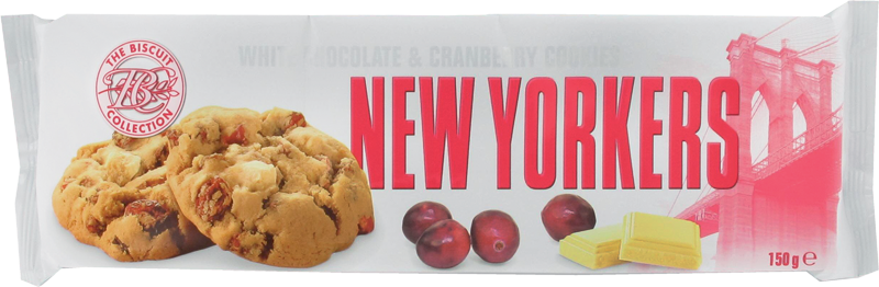 0324 - Cookies chocolat blanc cranberry New Yorkers