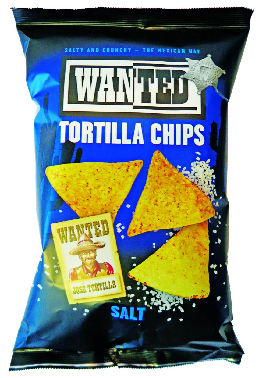 2014 - Chips tortillas au sel Wanted