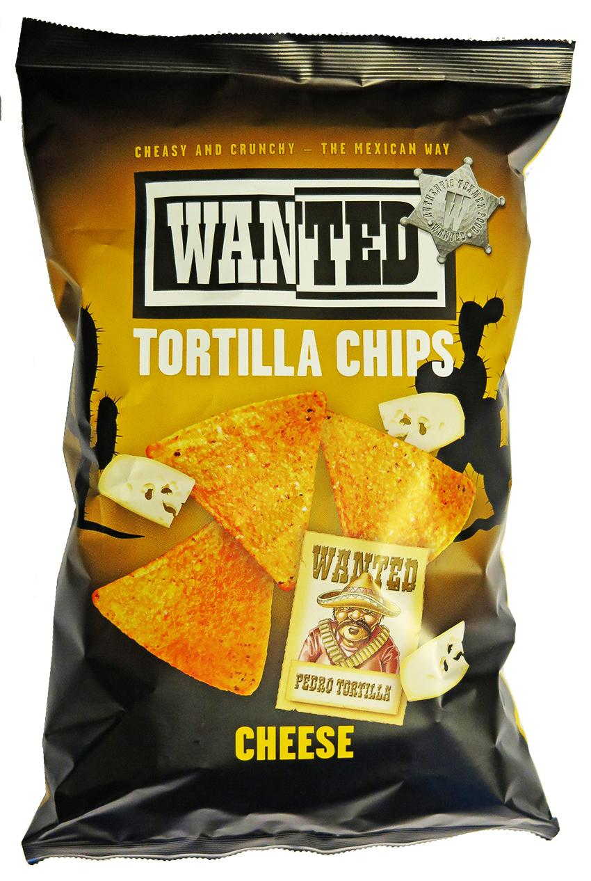2016 - Chips tortillas saveur fromage Wanted