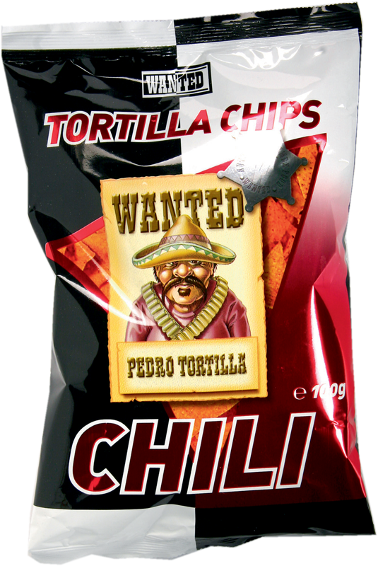 2037 - Chips tortillas saveur piment Wanted